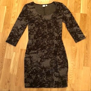 Nordstrom BP Black and Gray Dress